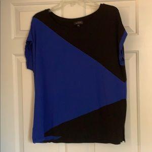 Color block shirt